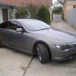 Autófólia - szürke BMW