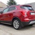 Autófólia - piros Opel