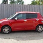 Autófólia - piros Suzuki Swift
